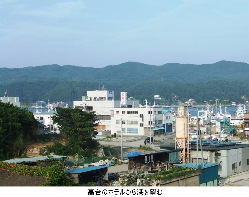 2. 高台のホテルから港を望む.JPG