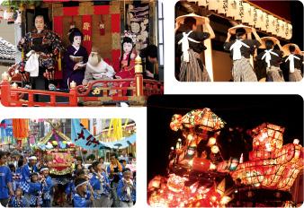 地域のお祭り画像